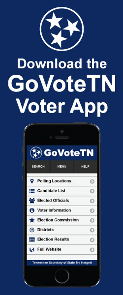 Tennessee Secretary of State: Division of Election: Election ...
